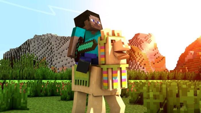 minecraft-steve-llama